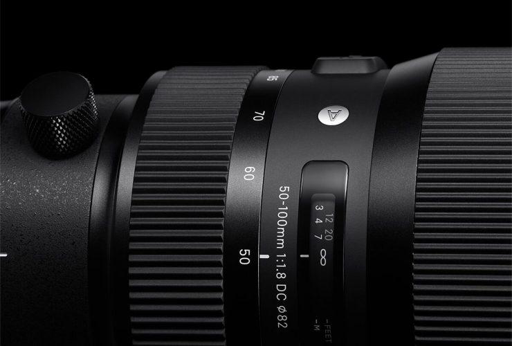 Sigma 50-100mm f/1.8 Art là ống kính tele đầu tiên có khẩu độ f/1.8 | 50mm Vietnam