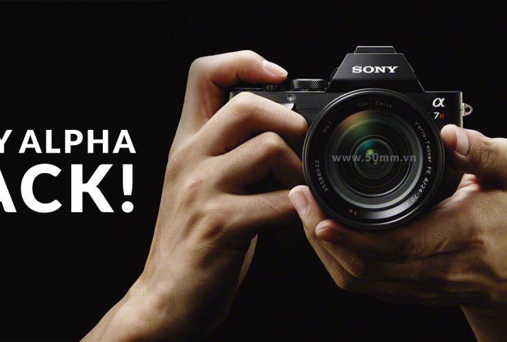 Người dùng Sony vui mừng chào đón bản hack firmware   50mm Vietnam
