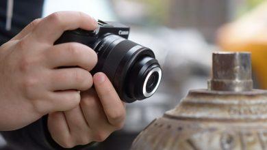 Canon EF-M 28mm f3.5 IS STM - Ống macro siêu độc | 50mm Vietnam