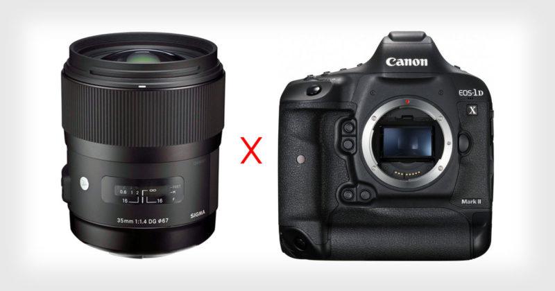 Ống kính Sigma gặp lỗi với máy ảnh Canon