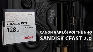 Canon EOS 1D-X Mark II dính lỗi thẻ nhớ nghiêm trọng | 50mm Vietnam