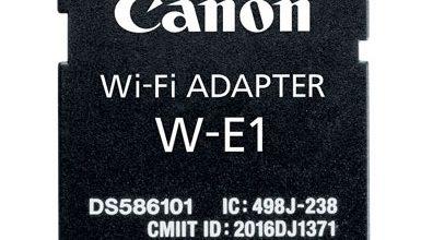 Canon W-E1 – Thẻ SD Wifi cho máy ảnh DSLR | 50mm Vietnam