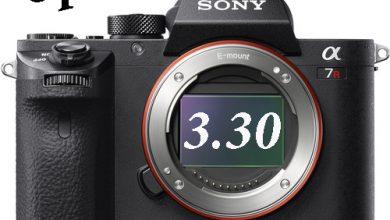 Sony vừa cập nhật firmware 3.30 cho A7RII | 50mm Vietnam