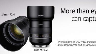 Samyang ra lò dòng 2 ống kính 85mm f/1.2 và 24mm f/1.4 | 50mm Vietnam