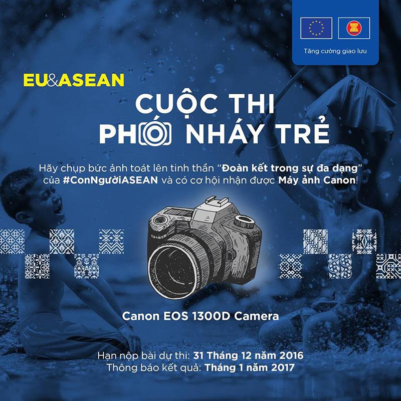 Đi tìm những ''Phó nháy Trẻ EU-ASEAN''   50mm Vietnam Official Site