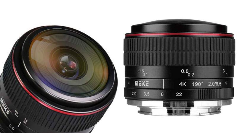 Meike 6.5mm f/2: Sự lựa chọn mới cho Fish-eye giá rẻ   50mm Vietnam