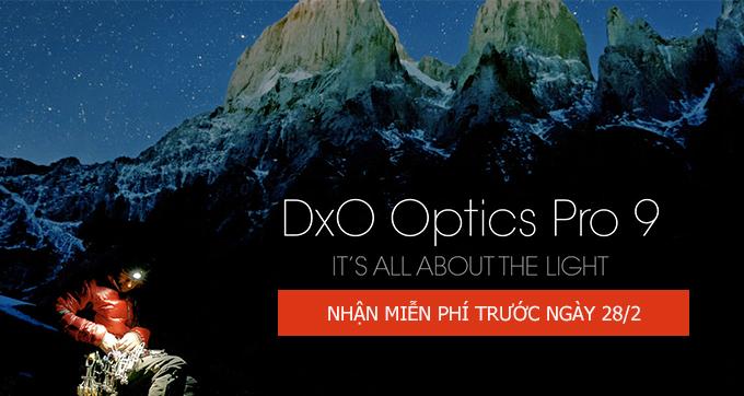 Lì năm mới 2017: DxO Optics Pro 9 hoàn toàn miễn phí! | 50mm Vietnam Official Site