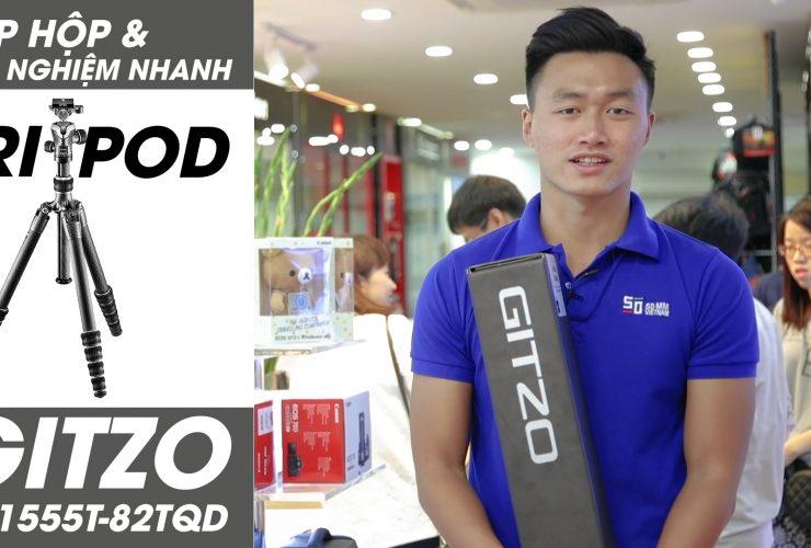 Đập hộp Tripod 20 triệu - Gitzo GK1555T-82TQD | 50mm Vietnam Official Site