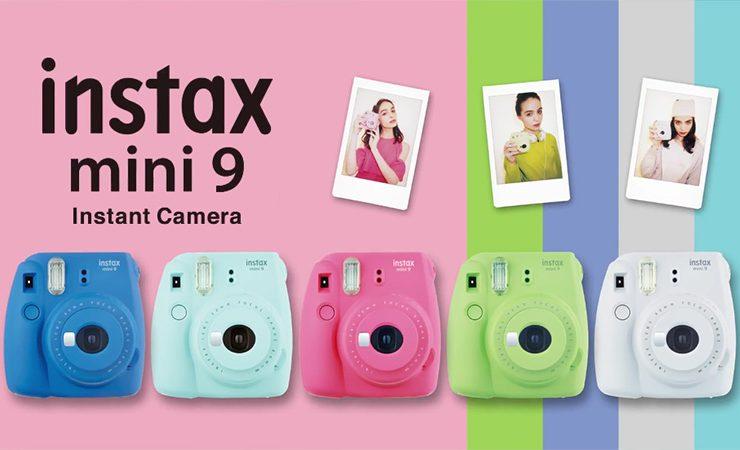"""Fujifilm giới thiệu máy ảnh """"mì ăn liền"""" Instax Mini 9   50mm Vietnam"""