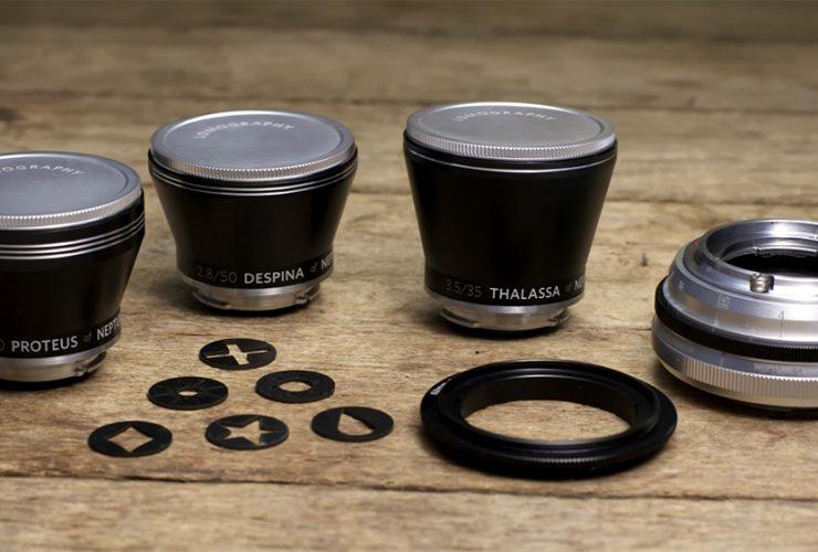 Lomography ra mắt dàn ống kính mới cho DSLR | 50mm Vietnam
