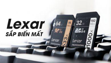 Thẻ nhớ Lexar chính thức bị khai tử! | 50mm Vietnam