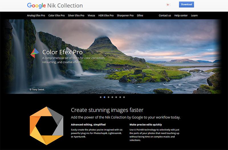 Phần mềm chỉnh ảnh nổi tiếng Nik Collection đã bị Google bỏ rơi! | 50mm Vietnam
