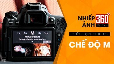 Nhiếp ảnh 360 Cơ Bản - Tập 11   Chế độ chụp M (Manual)   50mm Vietnam