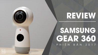 Quick Review - Samsung Gear 360 phiên bản 2017 | 50mm Vietnam