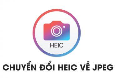 Chuyển đổi định dạng ảnh mới HEIC của Apple về JPEG đơn giản thôi! | 50mm Vietnam
