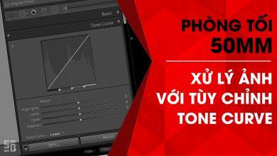 Phòng tối 50mm - Tập 10 (Lightroom): Xử lý ảnh với tùy chỉnh Tone Curve (Phần 1) | 50mm Vietnam