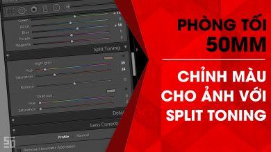 Phòng tối 50mm - Tập 12 (Lightroom): Điều chỉnh màu sắc với Split Toning | 50mm Vietnam