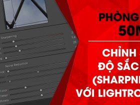 Phòng tối 50mm – Tập 15 (Lightroom): Chỉnh sửa độ sắc nét (Sharpness)   50mm Vietnam