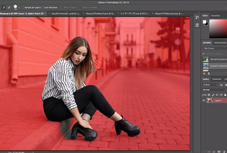 Adobe Photoshop cập nhật tính năng tách người khỏi phông cực nhanh | 50mm Vietnam