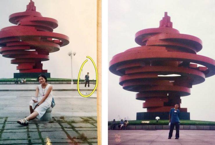 Câu chuyện qua những tấm ảnh: Trùng hợp kỳ lạ hay duyên trời định?   50mm Vietnam