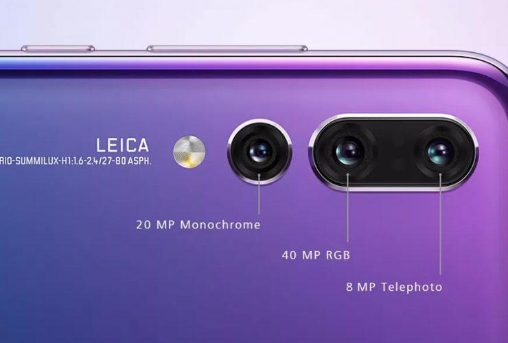 Huawei P20 Pro: 3 camera, ISO 102.400, độ phân giải 40MP | 50mm Vietnam