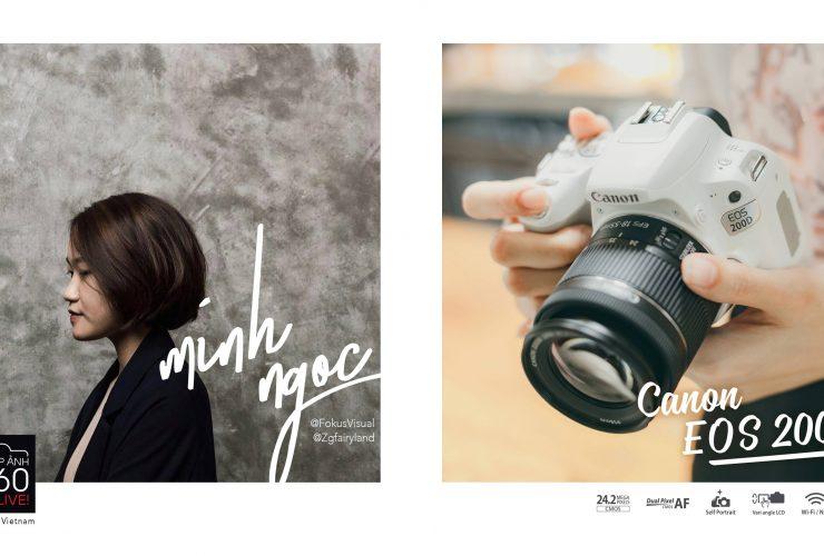 Nhiếp ảnh 360 Live: EP01: EOS 200D và Foodstylist Minh Ngọc