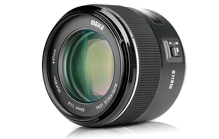 Meike cho ra lò ống kính 85mm f/1.8 AF cho ngàm Canon | 50mm Vietnam