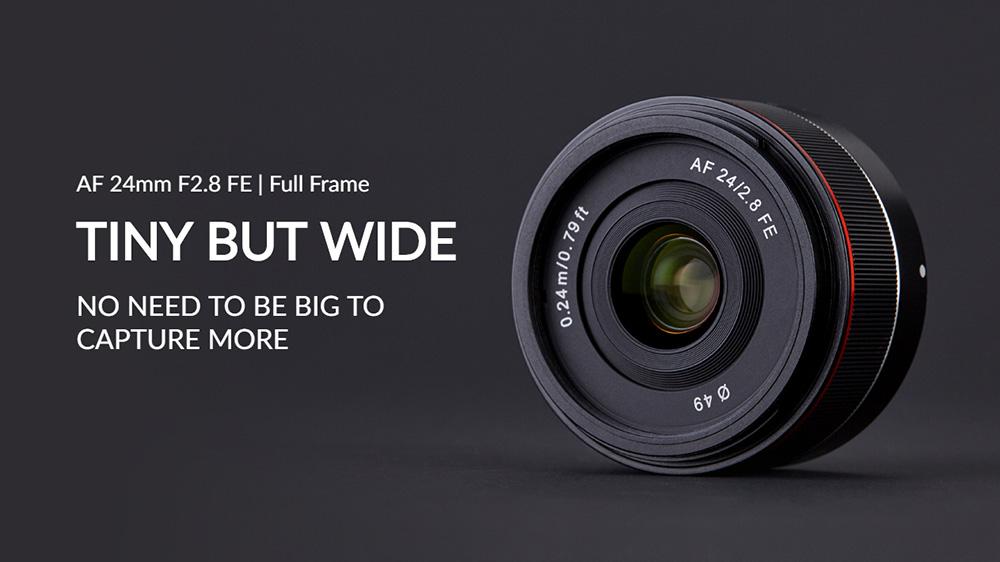 Samyang ra mắt ống kính pancake 24mm auto-focus cho Sony   50mm Vietnam