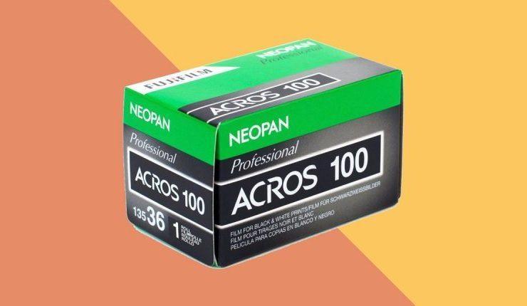 Fujifilm cân nhắc hồi sinh film B&W Neopan 100 Acros | 50mm Vietnam