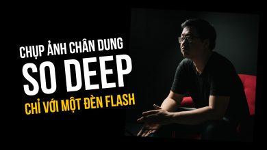 Quick Setup: Chụp ảnh chân dung so deep chỉ với một đèn flash | 50mm Vietnam