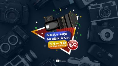 Shopee Photography Days (Sales đến 50%) | 50mm Vietnam