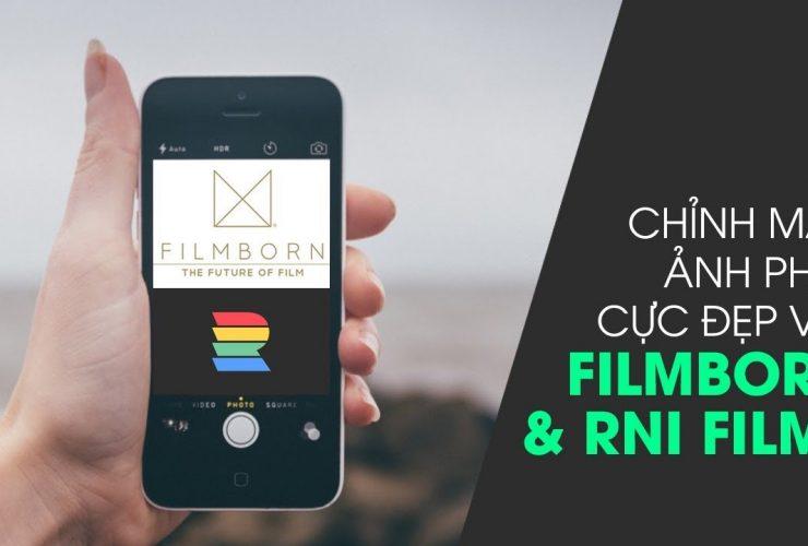 Phòng tối 50mm Mobile Tập 15: Hai apps chỉnh màu film cực ảo trên iOS: Filmborn và RNI Films | 50mm Vietnam