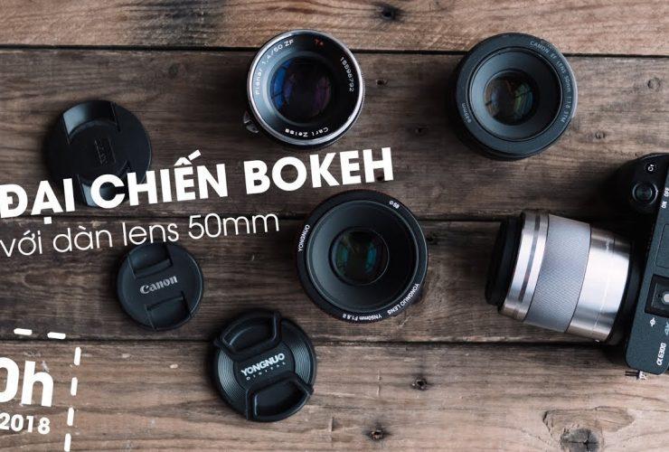 [Mùa III] Chit Chat Nhiếp Ảnh Số 5: Đại chiến dàn lens 50mm | 50mm Vietnam
