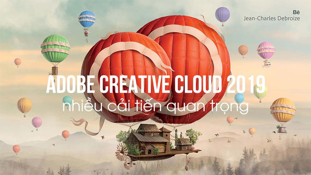 Adobe Creative Cloud 2019 - Nhiều cải tiến thú vị cho Lightroom và Photoshop | 50mm Vietnam