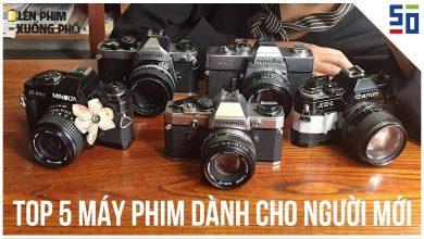 Top 5 MÁY ẢNH PHIM giá TỐT cho người MỚI BẮT ĐẦU | Tập 3 | Lên Phim Xuống Phố | 50mm Vietnam