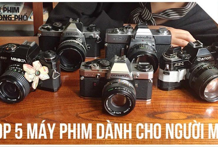 Top 5 MÁY ẢNH PHIM giá TỐT cho người MỚI BẮT ĐẦU   Tập 3   Lên Phim Xuống Phố   50mm Vietnam