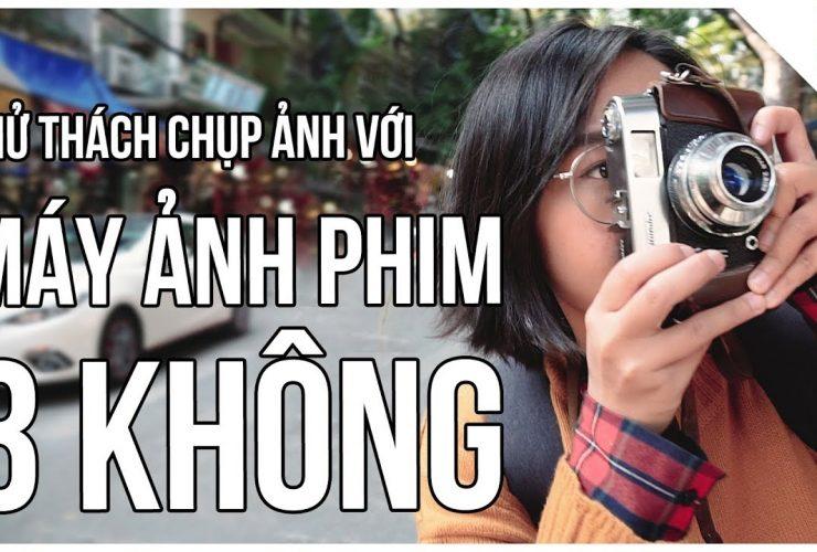 Thử thách chụp ảnh cùng MÁY ẢNH PHIM BA KHÔNG | Lên Phim Xuống Phố | Tập 8