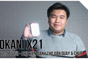 Đèn LED bỏ túi - Phụ kiện dành cho dân quay/chụp - Sokani X21   Tập 4   Chỉ 3 phút thôi!   50mm Vietnam