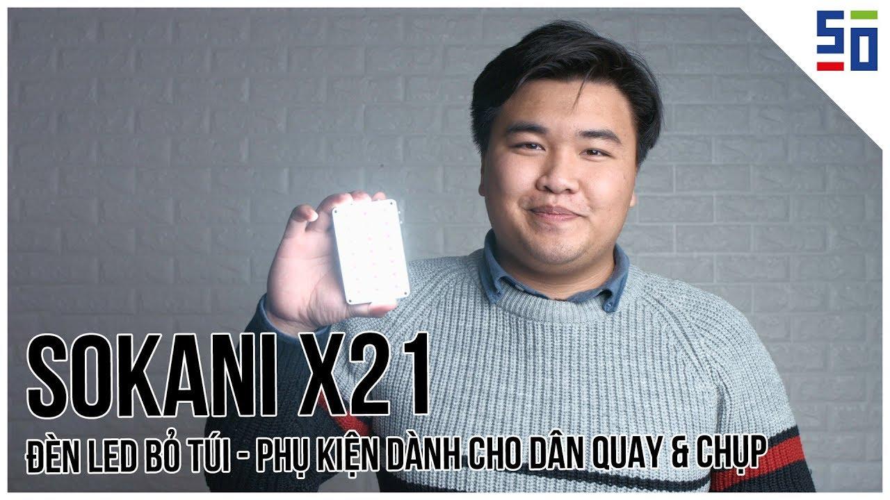 Đèn LED bỏ túi - Phụ kiện dành cho dân quay/chụp - Sokani X21 | Tập 4 | Chỉ 3 phút thôi! | 50mm Vietnam