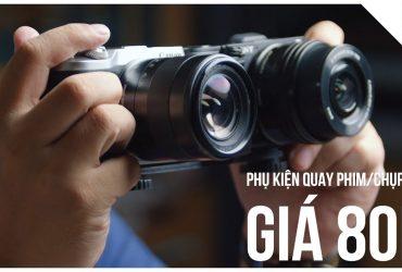 Đập hộp bộ chia chân máy ảnh giá 80K - Rẻ và phù hợp với người cần   50mm Vietnam