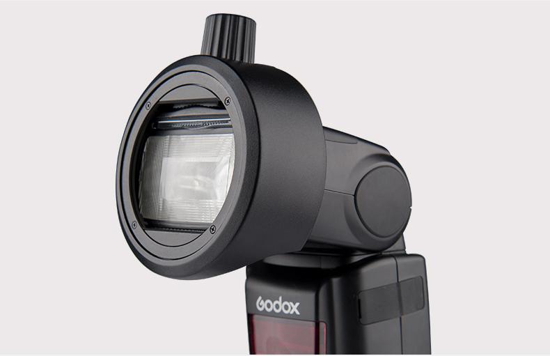 Godox ra mắt ngàm flash S-R1: nhỏ gọn mà linh hoạt