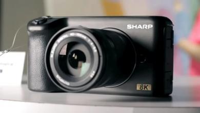 CES 2019: Sharp trình làng nguyên mẫu máy quay 8K