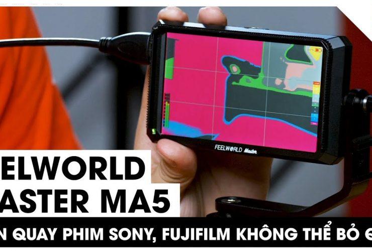 Feelworld Master MA5 - Màn hình dành cho dân quay phim Sony và Fujifilm | 50mm Vietnam