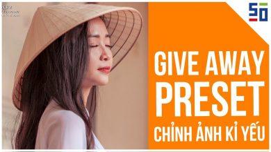 [GIVE AWAY PRESET] Chỉnh ẢNH CHÂN DUNG KỶ YẾU do fan gửi về | Tập 10 | Phòng tối 50mm | 50mm Vietnam