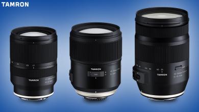 Tamron ra mắt bộ 3 ống kính mới, trong đó có một chiếc 35mm f/1.4 | 50mm Vietnam