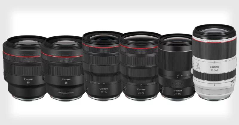 Canon ra mắt 6 ống kính RF: Quyết chiến đến cùng năm 2019 | 50mm Vietnam