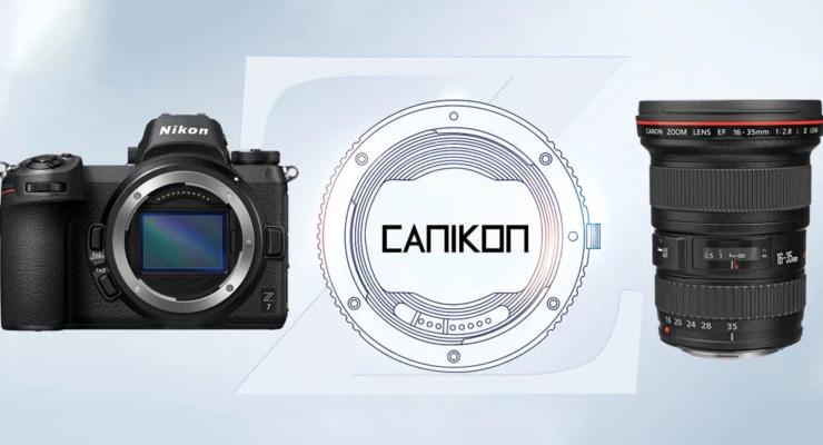 Gắn ống kính Canon vào thân máy Nikon: ý tưởng giờ đã thành hiện thực nhờ ngàm CANIKON | 50mm Vietnam