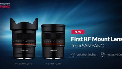Samyang trình làng bộ đôi ống kính 14mm và 85mm cho Canon EOS R | 50mm Vietnam