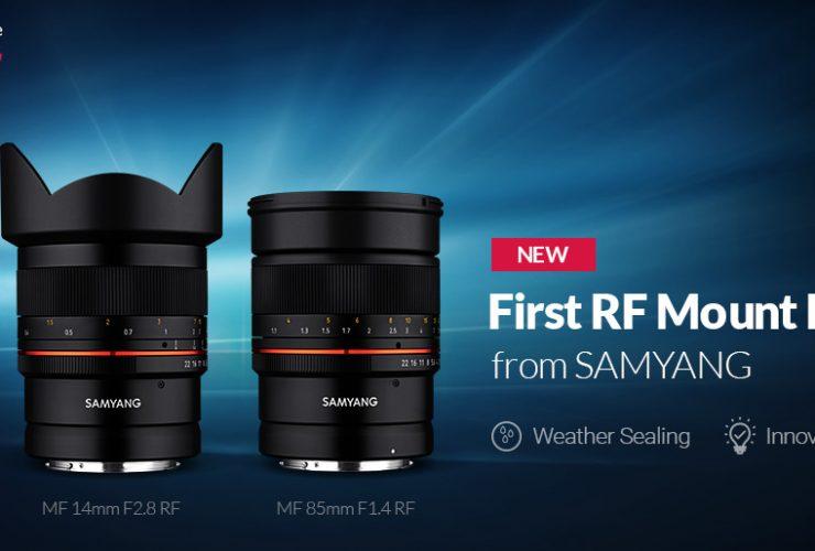 Samyang trình làng bộ đôi ống kính 14mm và 85mm cho Canon EOS R   50mm Vietnam