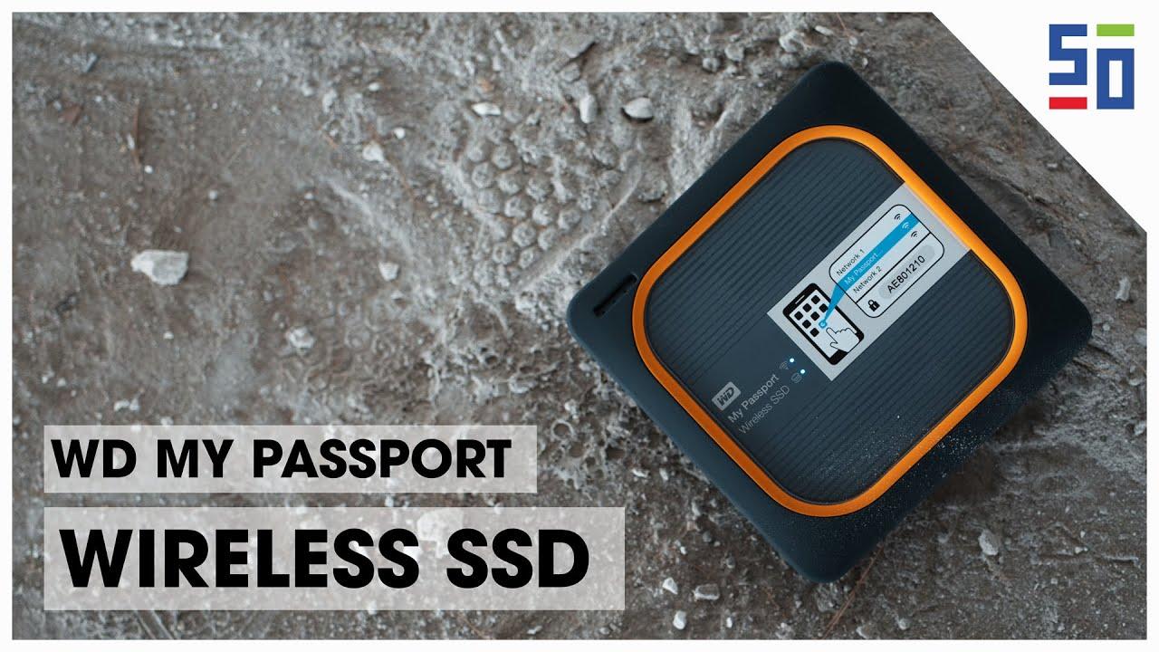 WD My Passport Wireless SSD - Sao lưu ảnh mà không cần máy tính | 50mm Vietnam